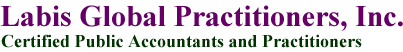 米国会計事務所 ラビス・グローバル・プラクティショナーズ・インク